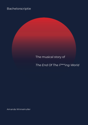 Bachelor thesis In 2011 Charles Forsman published his graphic novel The End of the F***ing World (TEOTFW). This novel forms the basis for the television serie directed by Jonathan Entwistle. The series first aired on the British television station, Channel 4, but in the beginning of 2018 it was also released on Netflix. This made the series accessible and well know all over the world. In this thesis I will research the impact that the diegetic music has on the narration and the main characters. To do so there are a few concepts that need to be explained. Firstly, I will explain the interpretation of 'diegetic music' that will be used in this thesis. Although I do not exclude any sounds from being 'music', to allow a clear and constructive analysis of diegetic music I am, for this thesis, defining this as: songs that have music and lyrics, and are written to tell a story on their own, but are edited to the living world of the main characters. I will then explain how to form meaning to music in in multimedia I will be using the theory proposed by Nicholas Cook in the article 'Theorizing Musical Meaning'. In this he creates an analytical model that enables us to finding similarities between two distinct media. By placing characteristics of the music in the movie on the right side and characteristics of the movie on the left side, in the middle similarities are found in the middle and in the way we form meaning to what we hear and see. Besides creating meaning to certain aspects based on our cultural and historical context we are able to distinguish certain functions that music can fulfill in film. Johnny Wingstedt describes six functional classes of which some have different sub-categories. Functions describe by Wingstedt are: Emotive class; Informative class (divided into categories of communication of meaning and communication of values; Establishing recognition; Descriptive class (divided into describing settings and describing physical activity; and guiding class (